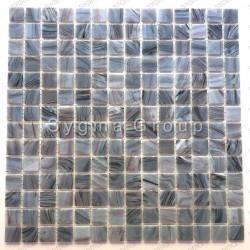 Carreaux mosaique murale et sol en verre salle de bain et douche Speculo Charron