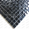 Black glass mosaic wall mosaic for kitchen and bathroom Kerem