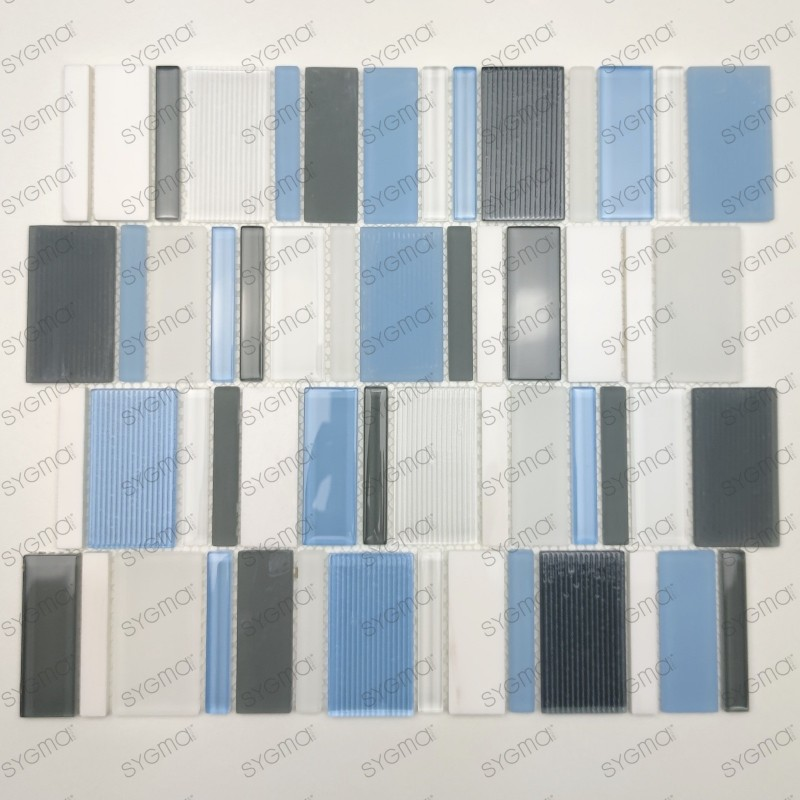 bathroom wall and glass stone and steel Malika floor tiles