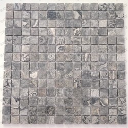 Floor and wall mosaic tile stone Nizza Gris