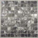 mosaic tile of Pearl tile shower bath Pearl Nacarat Gris