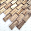 Kitchen and bathroom wall tiles Haines Marron