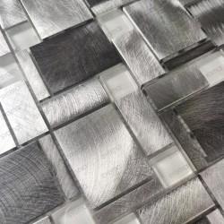 Backsplash kitchen aluminium mosaic shower JARROD