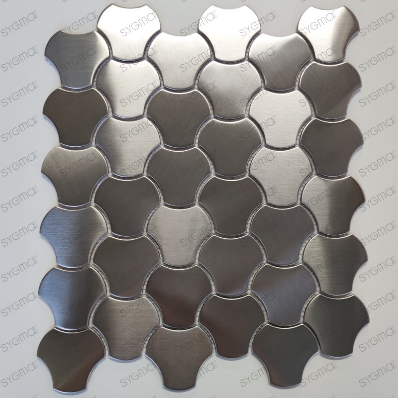 slab stainless steel splashback kitchen floor shower mosaic Ayoun