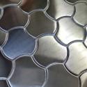 Malla acero inoxidable Peto cocina piso ducha mosaico Ayoun