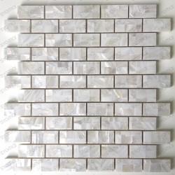 Carrelage et mosaique en nacre pour cuisine ou salle de bains Holms