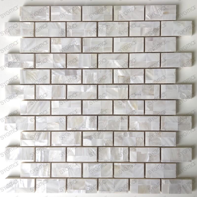 Azulejos y mosaicos de nácar para cocina o baño Holms