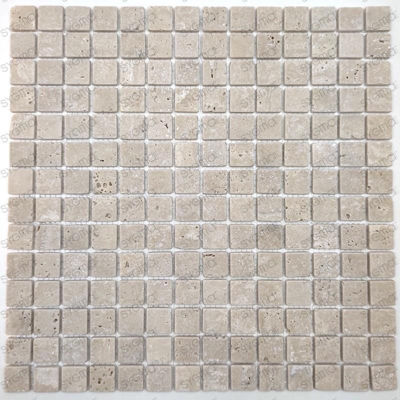 Azulejos y mosaicos de mármol travertino  para para el baño y la ducha Ektor