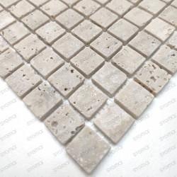 Travertine marble tiles and mosaics for walkinshower and bathroom Ektor