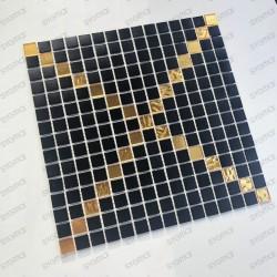 Pate de verre carrelage mosaique Allevar
