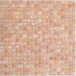 mosaico de vidrio iridiscente para la ducha y el baño Imperial Rose