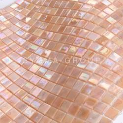 mosaique en verre irisé pour douche et salle de bains Imperial Rose