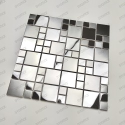 Mosaique en inox effet...