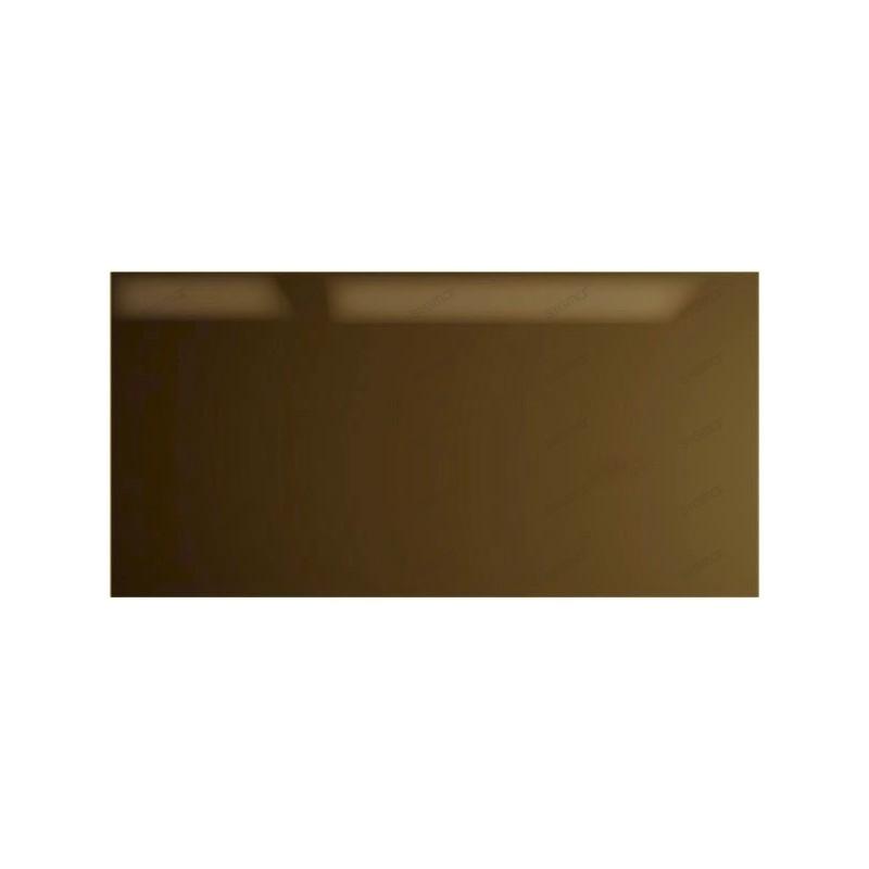 credence cuisine verre carrelage 90 x 60 cm MARRON
