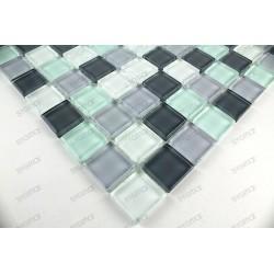 suelo mosaico cristal ducha baño frente cocina pinchard