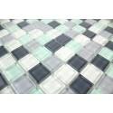 Mosaique carrelage verre 1 plaque PINCHARD