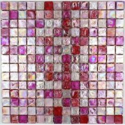 Mosaic tiles glass plate mosaic shower Arezo Rose