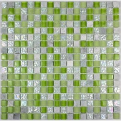 Samba - mosaique verre et pierre