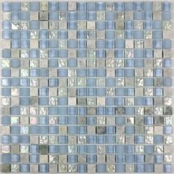 mosaique verre et pierre Acana