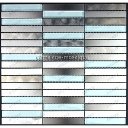 stainless steel tile kitchen splashback stainless steel mosaic cm-multiliner