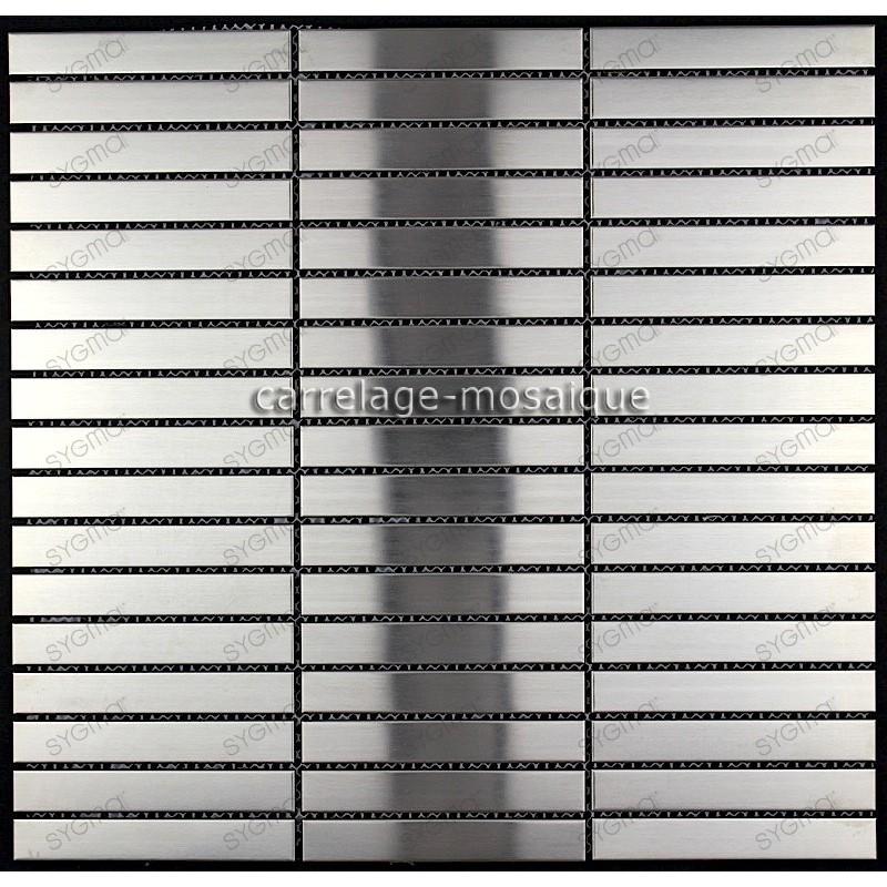 stainless steel tile kitchen splashback stainless steel mosaic Lignus 100
