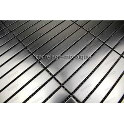 mosaico acero inoxidable cocina ducha Lignus 100