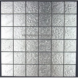 tiling kitchen stainless steel splashback stainless steel mosaic cm - structura