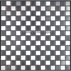 tiling kitchen stainless steel splashback stainless steel mosaic cm-damier20