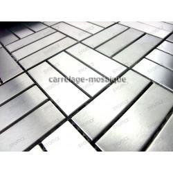 carrelage inox mosaique acier inoxydable DUPLICA64