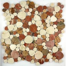 Luna Beige - mosaique pierre