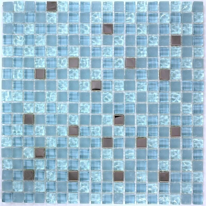 Harris Bleu Mosaique De Verre Carrelage Mosaique