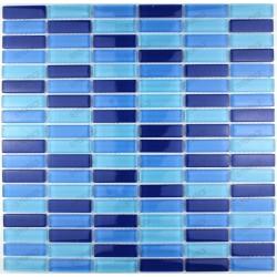 mosaico ducha vidrio mosaic baño frente cocina sky rectangular