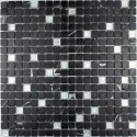 Malla mosaico azulejo Mandala Silver