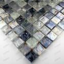 Mosaique carrelage verre ZENITH GRIS