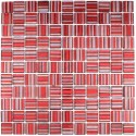 mosaique verre carrelage CANDY ROUGE