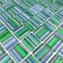 carreage mosaique en verre CANDY VERT