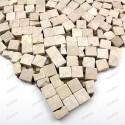 Mosaique carrelage pierre 1 plaque Sultan Beige