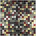 Tile glass mosaic shower bath Strass Dium