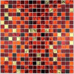 mosaic tiles glass shower bath model gloss-chika