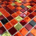 mosaico ducha vidrio mosaic baño frente cocina Strass Chika
