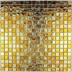 mosaique carrelage verre modele GLOSS GOLD