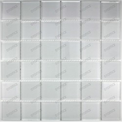mosaico cristal ducha baño frente cocina mat blanc 48